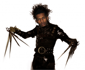 Mike Scissorhands Wallace